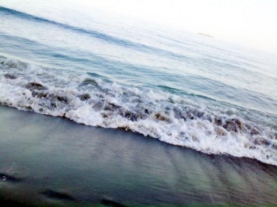 Paseando por la playa 1