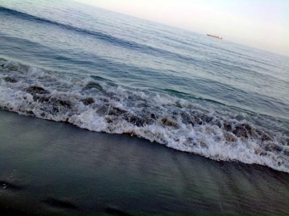 Paseando por la playa original