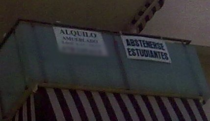abstenerse estudiantes