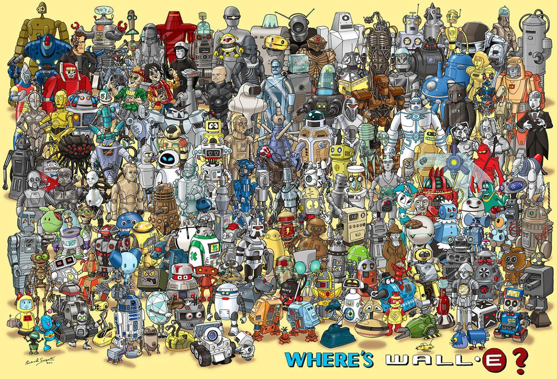 Dónde está Wall-e?