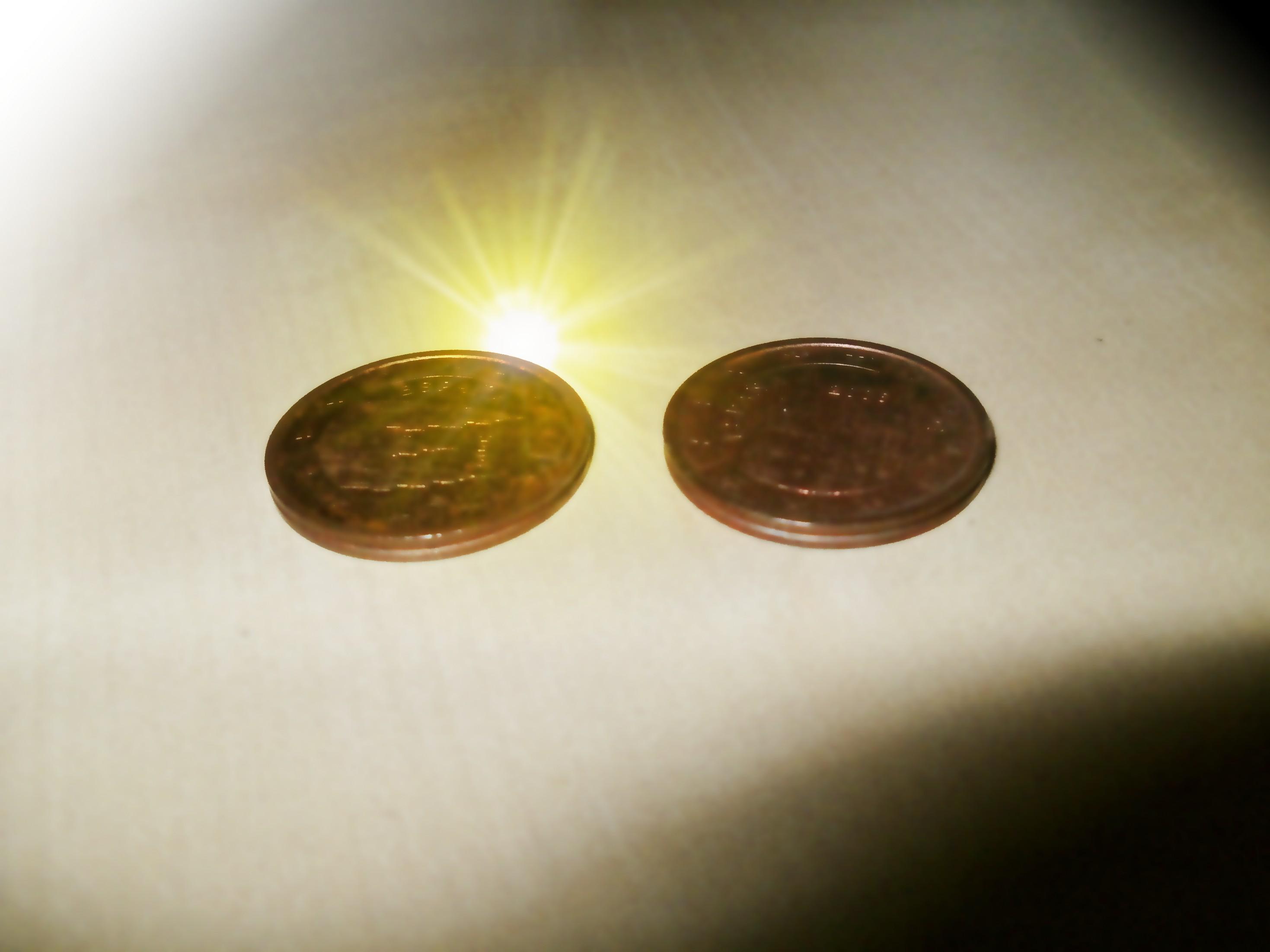 4 céntimos de euro