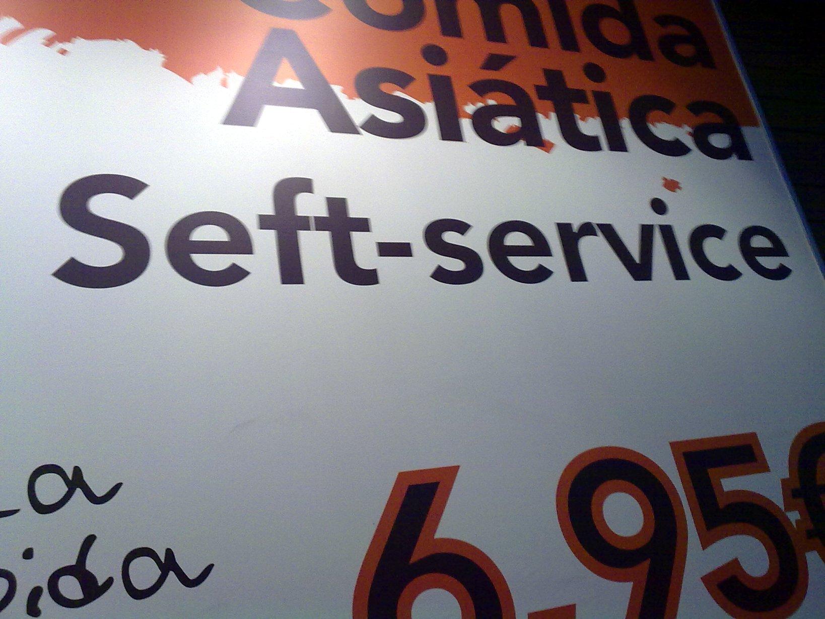 Seft-service