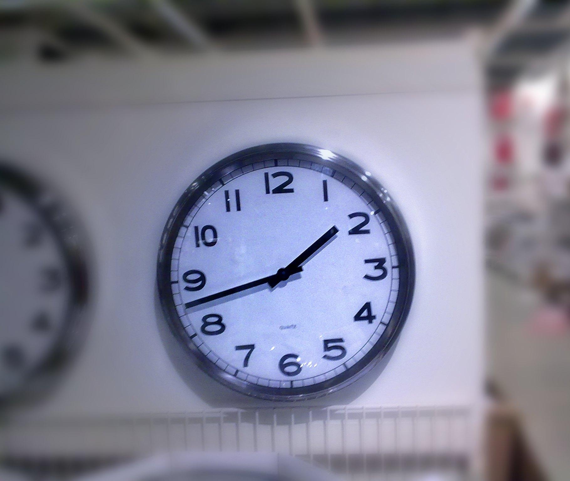 El tiempo pasa...