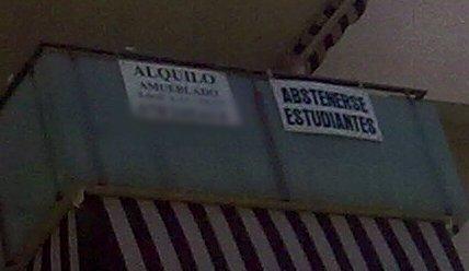 abstenerse estudiantes
